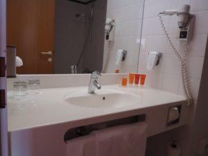 Łazienka wpokoju Vienna House Amber Baltic Międzyzdroje