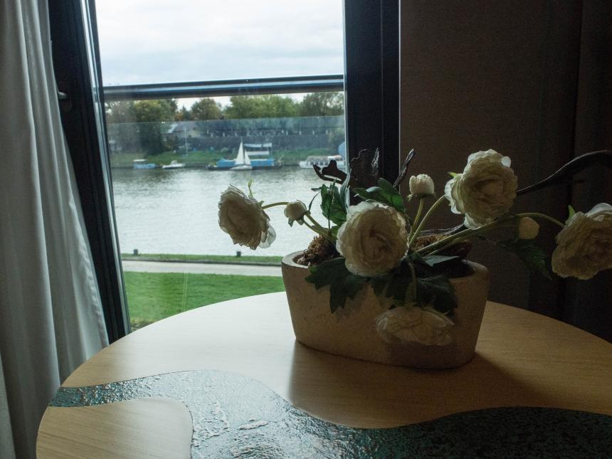 Zdjęcie zokna pokoju Niebieski Hotel Art & SPA