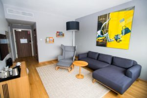 Apartament Hotelu Courtyard by Marriott Gdynia