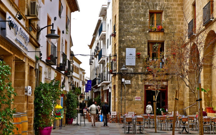 Stare Miasto, Javea, Costa Blanca, Hiszpania