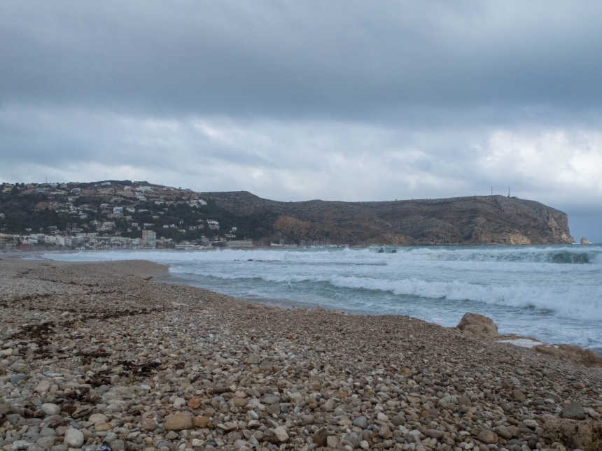 Javea - plaża, Costa Blanca