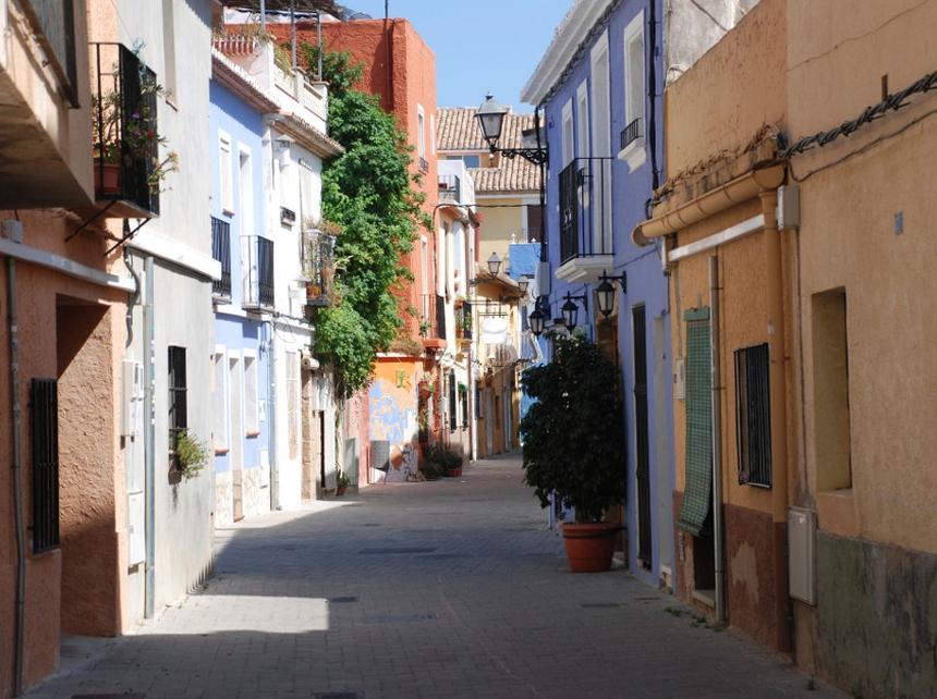 Stare Miasto, Denia, Costa Blanca, Hiszpania