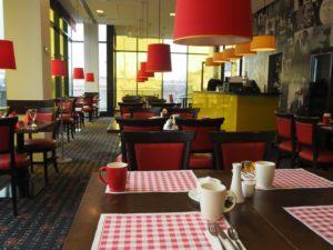 Restauracja Sunlight whotelu Vienna House Easy Pilzno, Czechy
