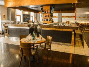 Restauracja whotelu Courtyard by Marriott Pilzno, Czechy