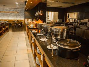 Śniadanie whotelu Courtyrad by Marriott, Pilzno, Czechy