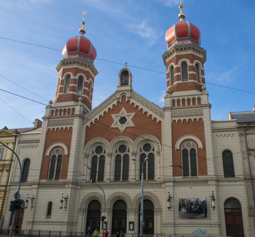 Wielka Synagoga, Pilzno