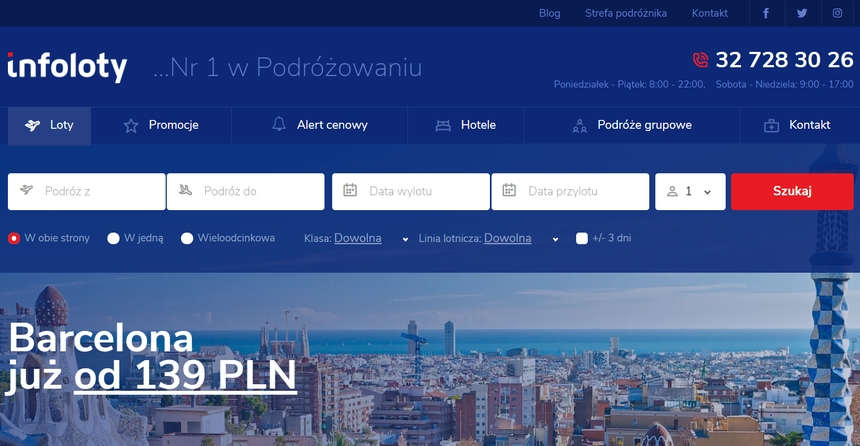 Infoloty.pl – jak znaleźć idealny lot i hotel?