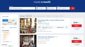 Hotele wSewilli - Infoloty.pl