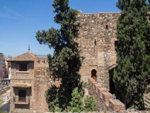 Alcazaba - Malaga, Hiszpania