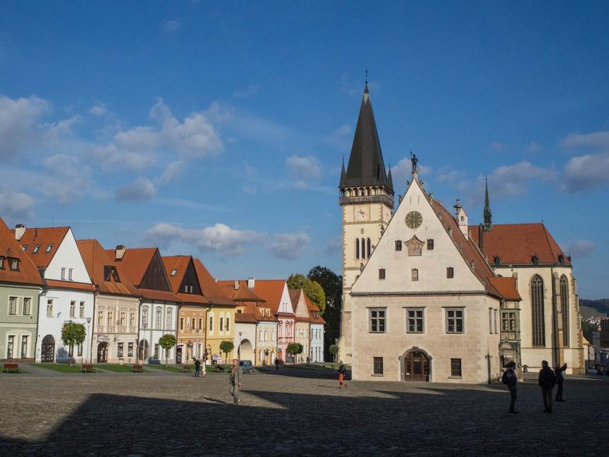 Bardejów - miasto naSłowacji, położone niedaleko granicy zPolską \ podrozniczo.pl