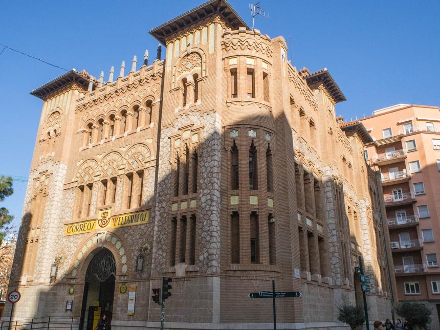 Budynek poczty wCastellon de la Plana