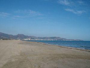Castellon de la Plana - plaża