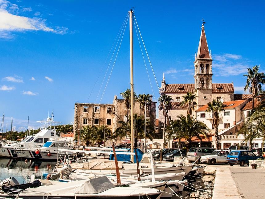 Chorwacja jacht