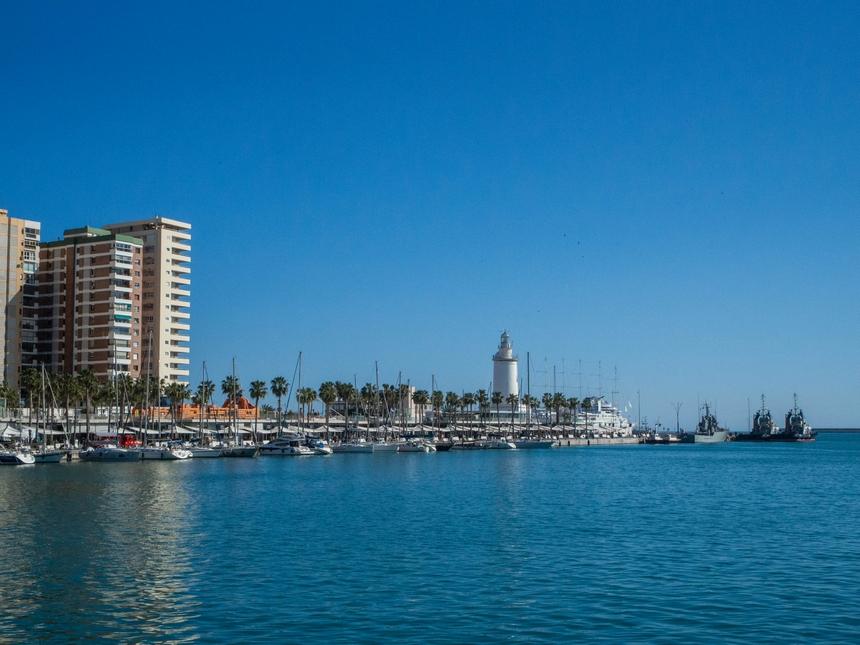 Hiszpania, Malaga, port