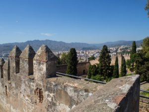 Mury obronne zamku Gibralfaro, Malaga