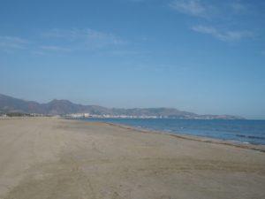 Plaża wCastellon de la Plana, Hiszpania