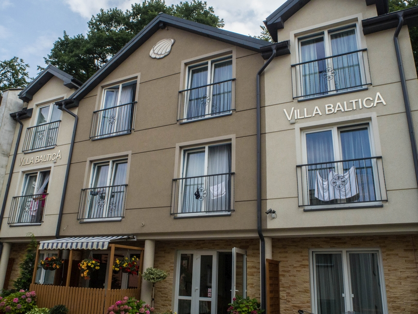 Villa Baltica Międzyzdroje - widok zzewnątrz