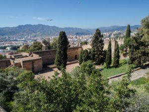 Pozostałości zamku Gibralfaro, Malaga