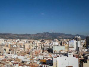 Widok zwieży El Fadrí, dzwonnica wCastellon de la Plana, Hiszpania