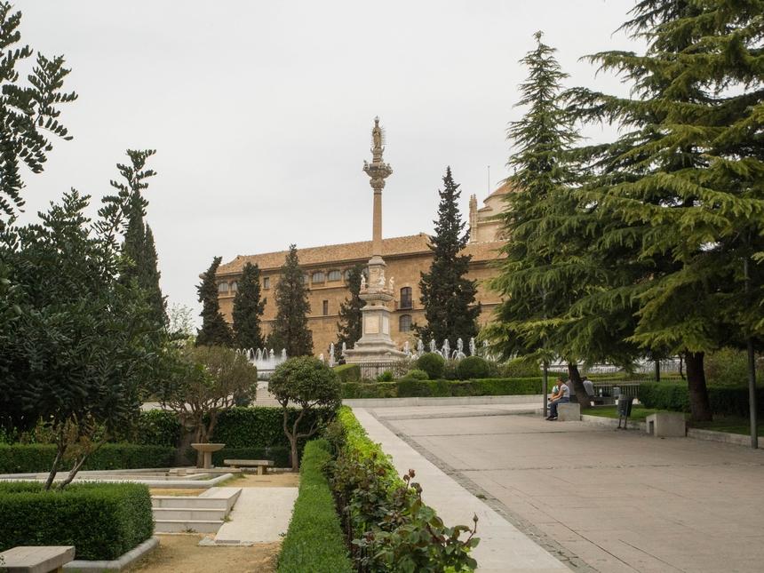 Jardines del Triunfo, Granada, Hiszpania