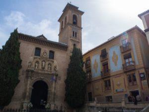Iglesia de San Gil y Santa Ana, Granada, Hiszpania
