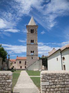 Dzownnica wmieście Nin, Chorwacja