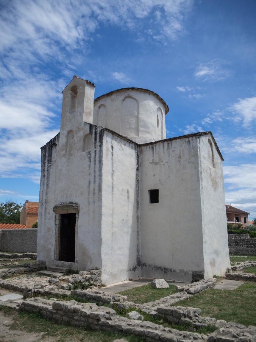 Najmniejsza katedra naświecie - Nin, Chorwacja