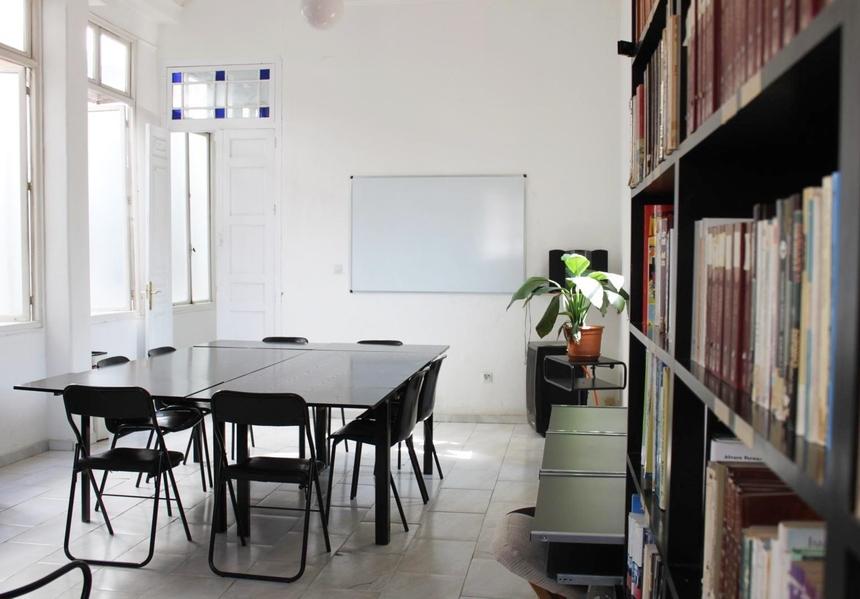 Sala lekcyjna wAcademia CILE, Malaga