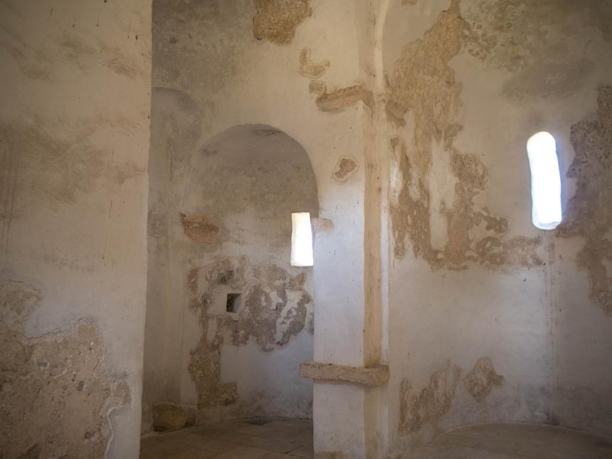 Wnętrze katedry wNin