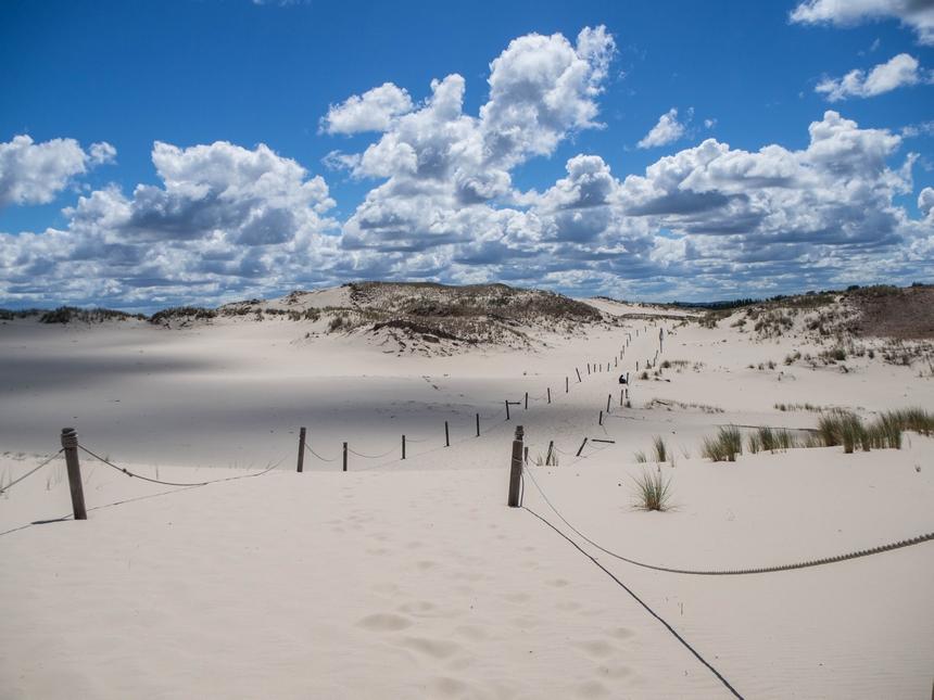 Czołpino - wydmy iplaża