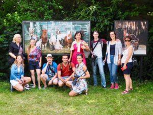 Blogerzy nafestiwalu fotograficzny La Gacilly, Baden, Austria
