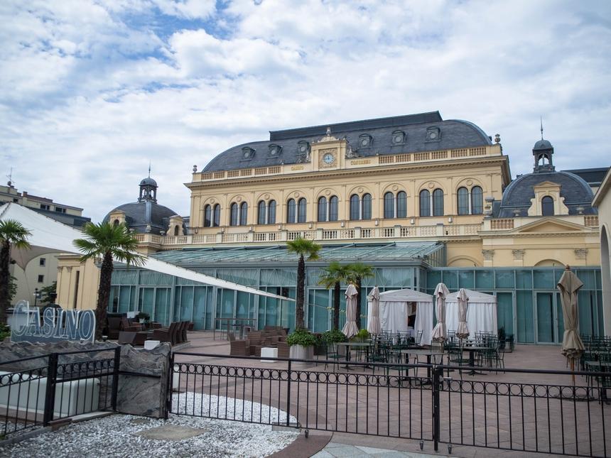 Dom Zdrojowy, kasyno wBaden bei Wien, Austria