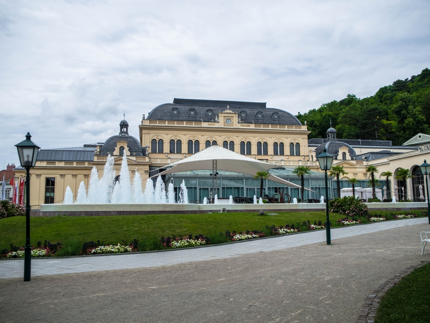Kasyno wBaden bei Wien, dawny Dom Zdrojowy, Austria