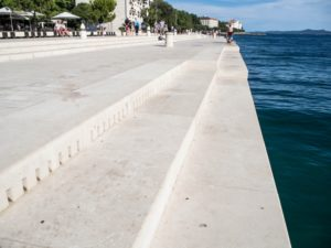 Organy morskie, Zadar, Chorwacja