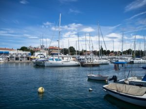 Port wZadarze. Chorwacja