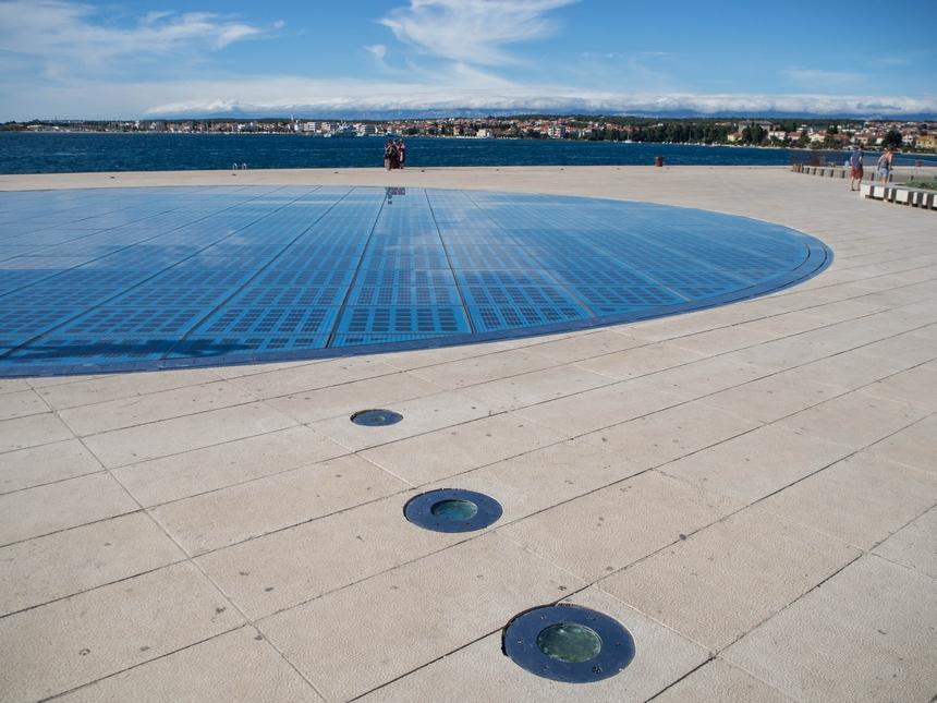 Pozdrowienie Słońca, Zadar, Chorwacja