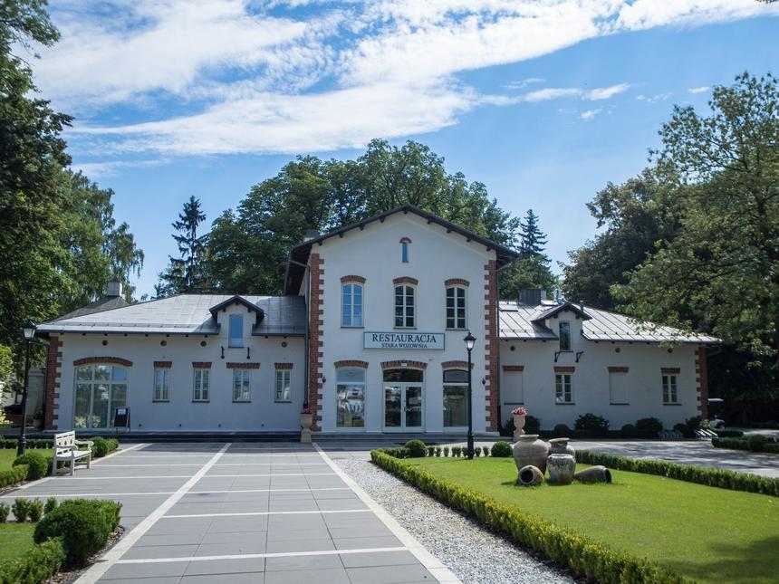 Restauracja Stawa Wozownia - Pałac Mała Wieś