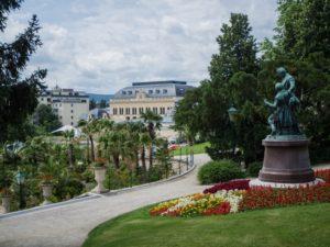 Widok nakasyno wBaden bei Wien, Austria