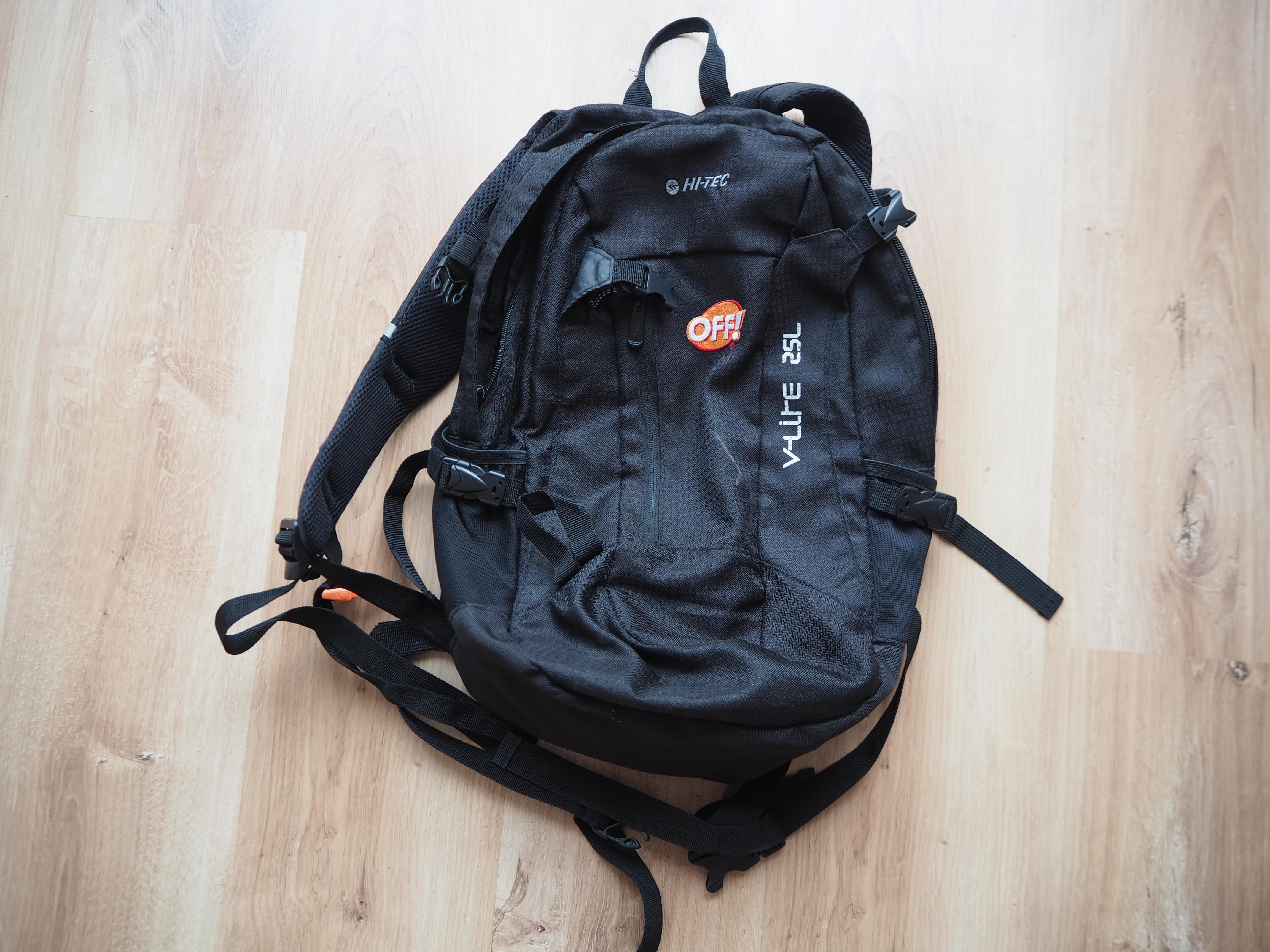Plecak - idealny nawyprawę wgóry