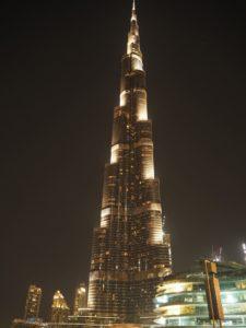 Burj Khalifa – najwyższy budynek świata, Dubaj