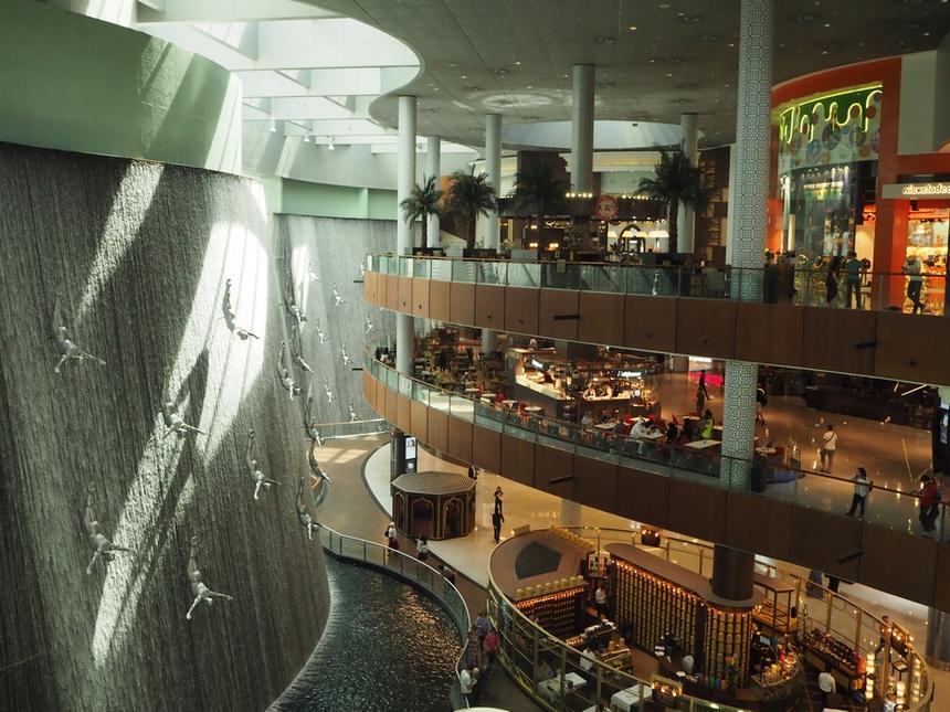 The Dubai Mall, największe naświecie centrum handlowe, Dubaj