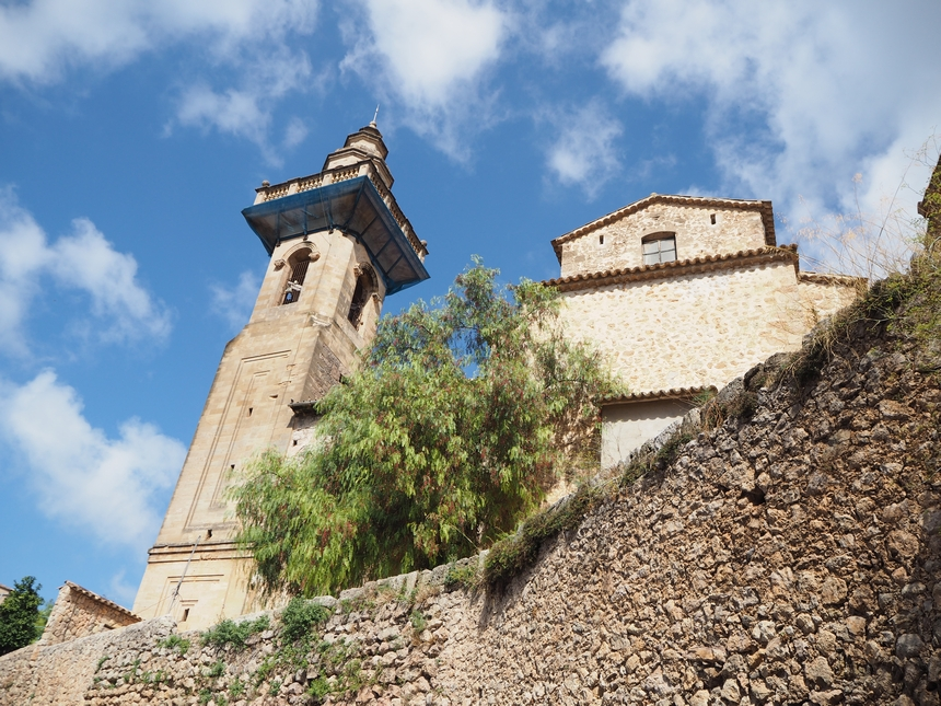 kościół Esglesia de San Bartolome, Valdemossa, Majorka