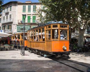 Pociąg zSoller doPalmy, Majorka