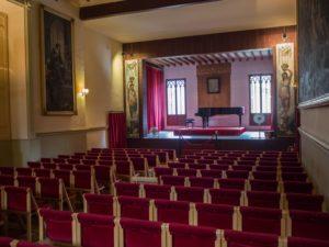 Sala koncertowa, wValdemossie, Majorka