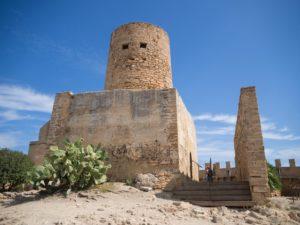Baszta nazamku Castell de Capdepera, Majorka