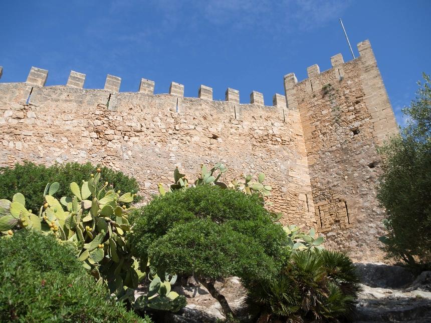 Castell de Capdepera, Majorka