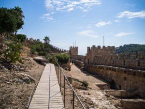 Teren zamku Castell de Capdepera, Majorka