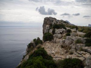 Góry, Majorka, wdrodze naCap de Formentor, Majorka
