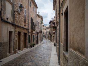 Ulice miasta Pollenca, Majorka