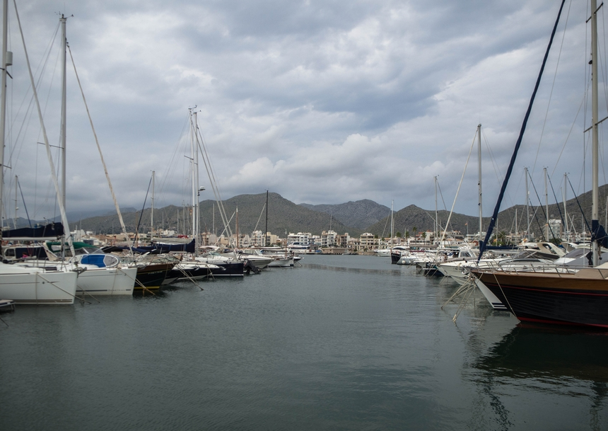 Port wmieście Port de Pollenca, Majorka